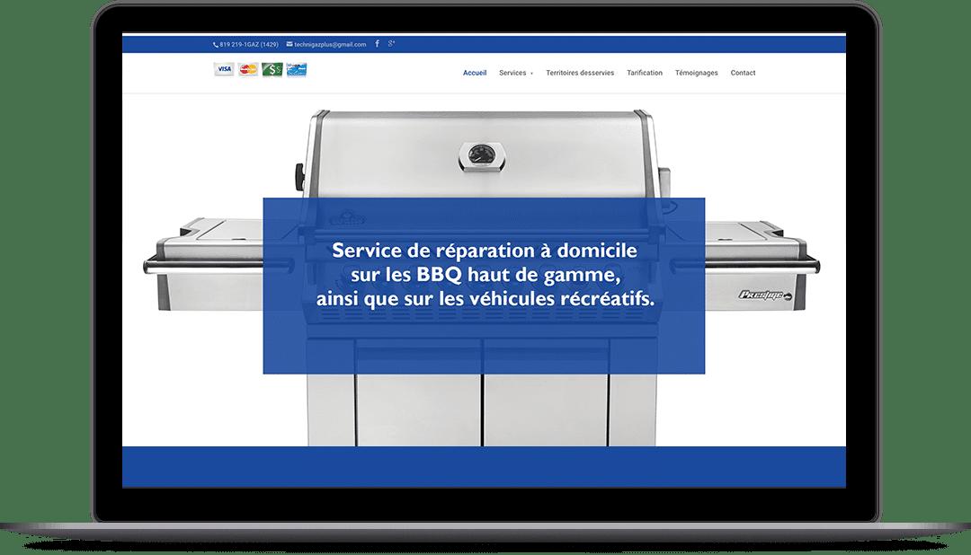 Site Web pour Techni-gaz plus