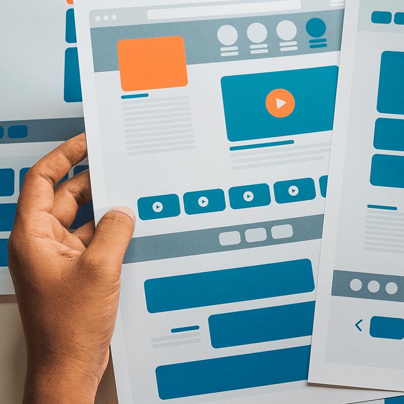 Création de maquettes Web pour WordPress