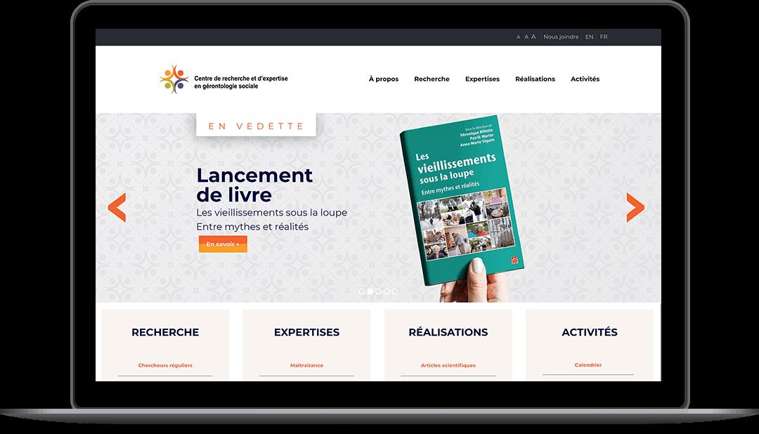 Site Web pour le CREGÉS