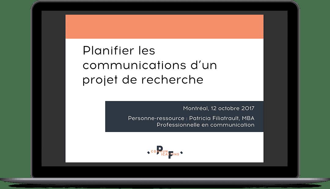 Formation pour la création d'un plan de communication