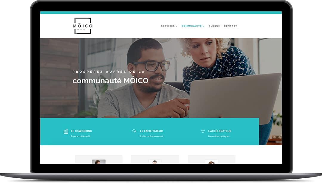 Création de site Web pour mocio