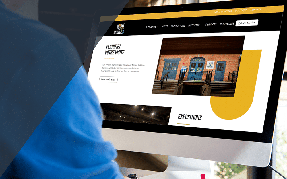 Création Web pour un centre de recherche du Québec